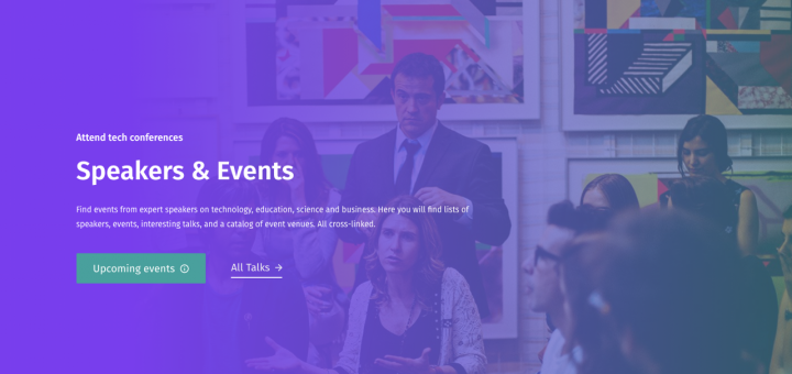 Speakers and Events